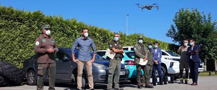 Aerocamaras equipa a la Xunta de Galicia con drones para investigar los incendios forestales