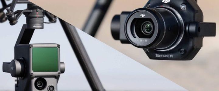 DJI presenta Zenmuse L1 y P1, nuevos sensores para drones profesionales