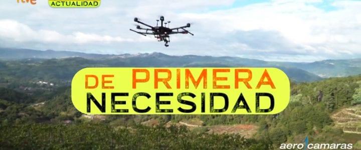 Comando Actualidad (TVE) muestra nuestros servicios de agricultura de precisión con drones