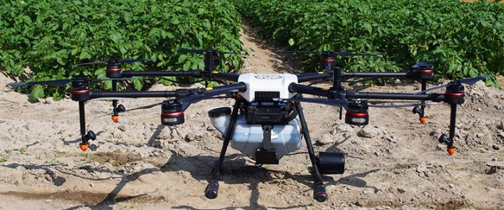 Características, ventajas y modelos de drones para controlar el riego en cultivos