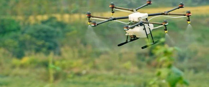 Guía con todos los detalles sobre el uso de los drones para fumigar