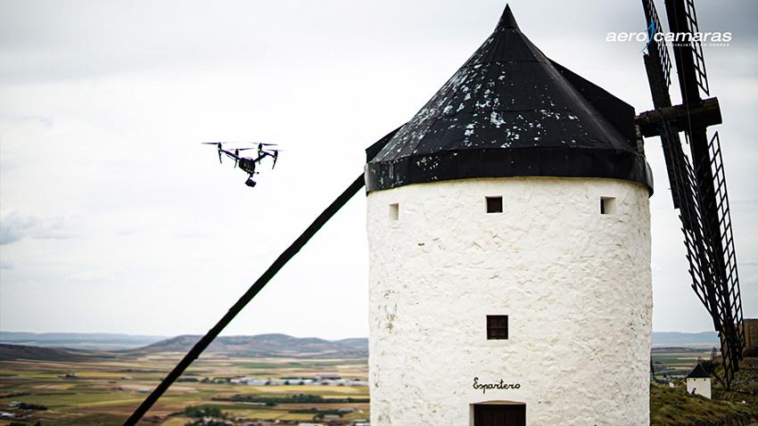 drones-en-cine-molino-grabación-Consuegra