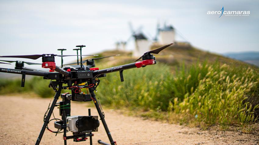 drones grabación cine-TV-publicidad