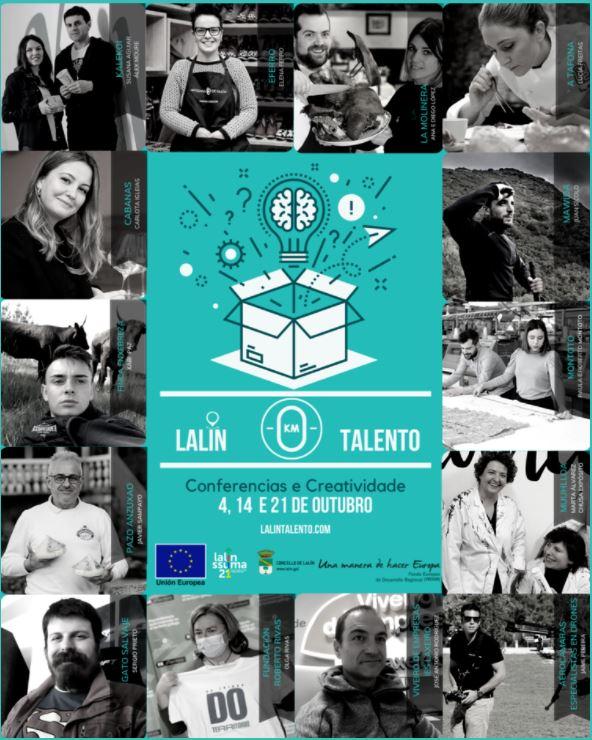 cartel lalin talento - aerocamaras