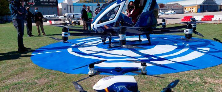 La Policía Nacional adquiere el primer dron para pasajeros